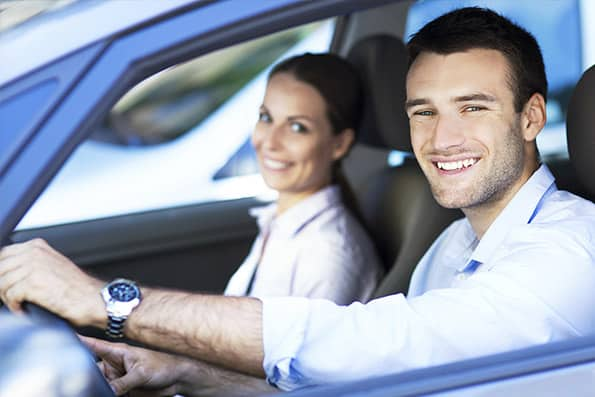 Why Choose ADS - Male Driver with Female Passenger